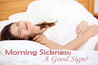 Morning sickness' linked to lower risk of pregnancy loss