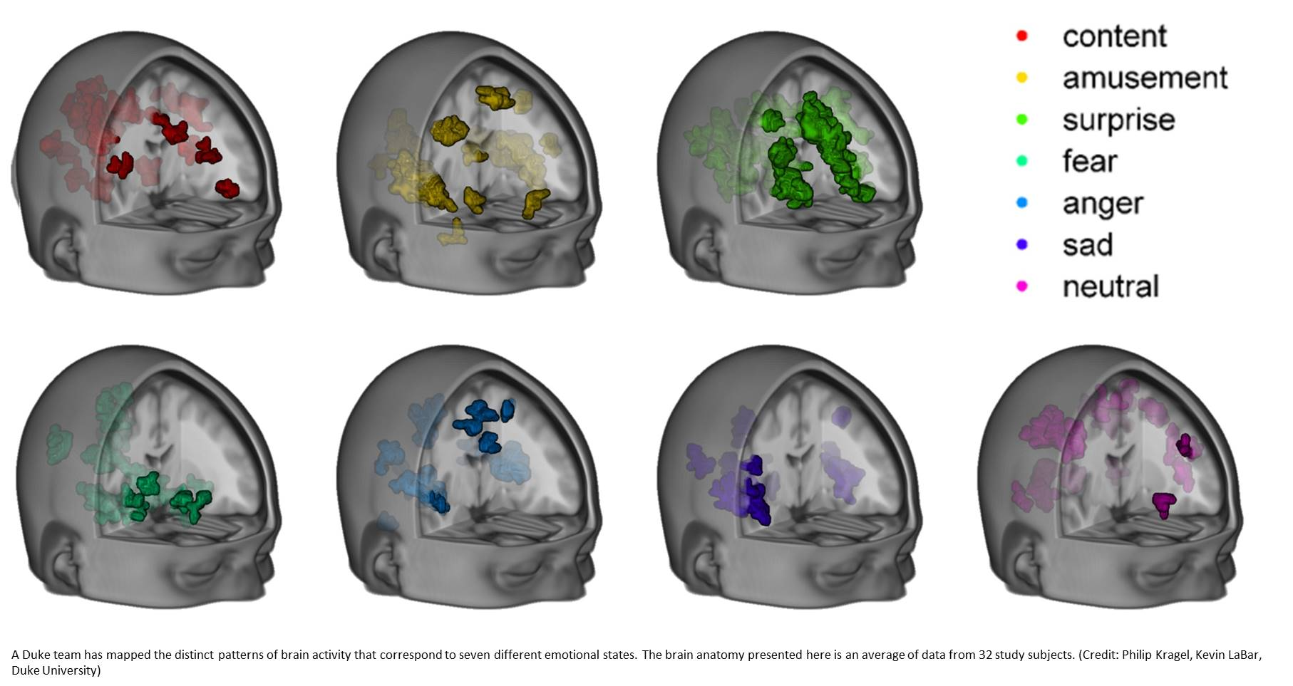 MRI SCANNER SEES EMOTIONS FLICKERING ACROSS AN IDLE MIND