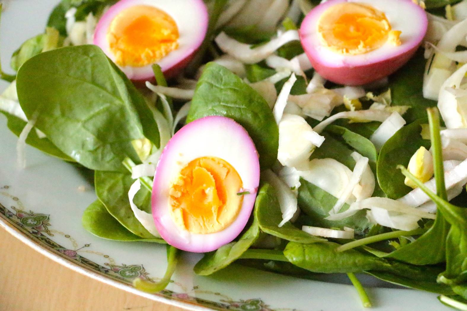 Toss eggs onto salads to increase Vitamin E absorption