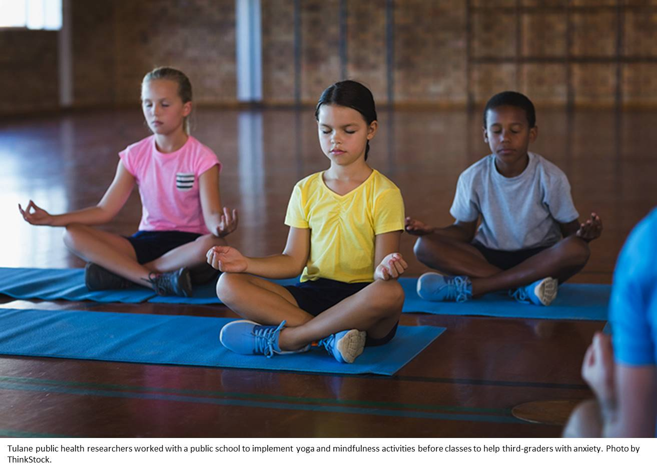 School-based yoga can help children better manage stress and anxiety