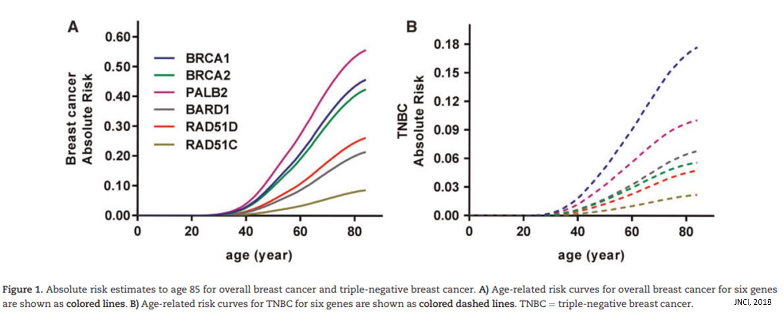 Genes associated with risk for aggressive breast cancer identified!