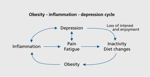 Integrated therapy to treat obesity and depression