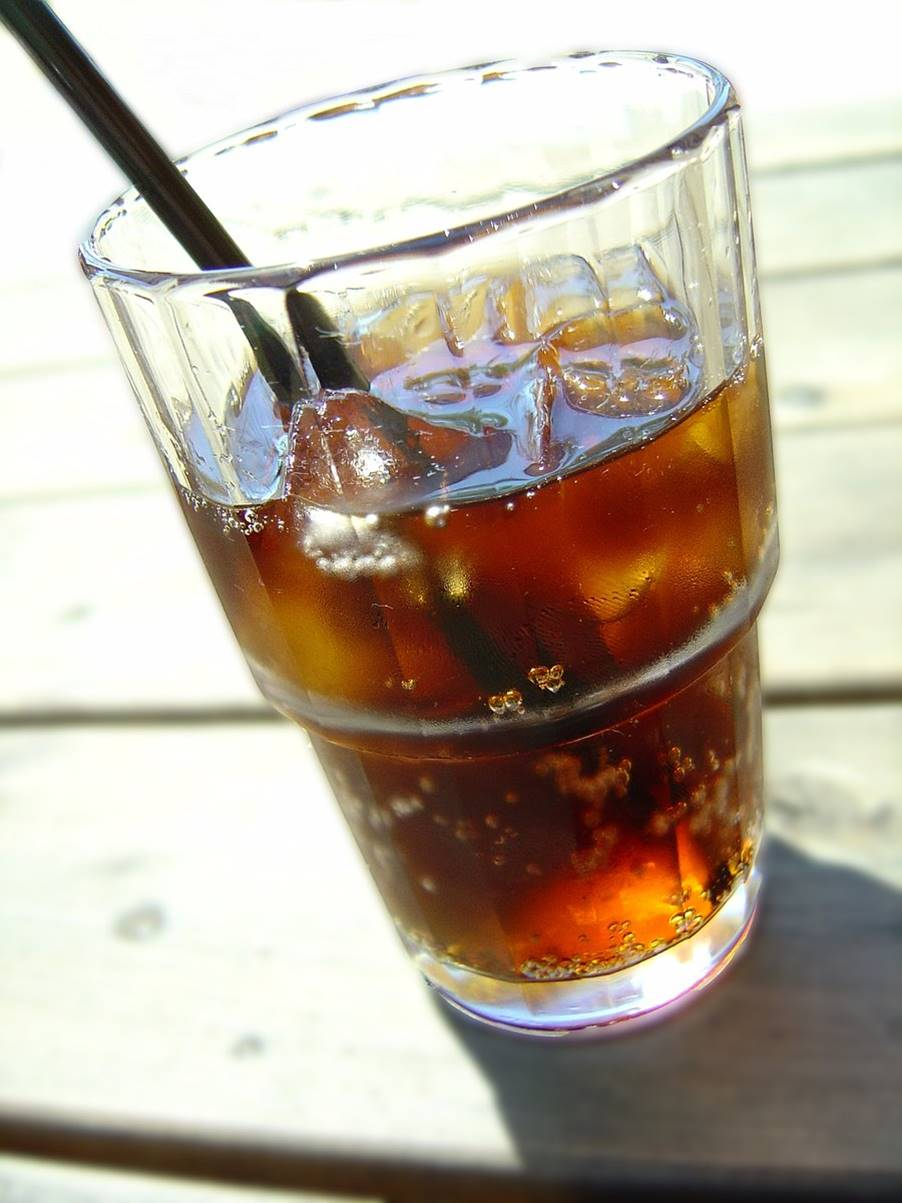 Link between soft drink consumption and increased risk of death