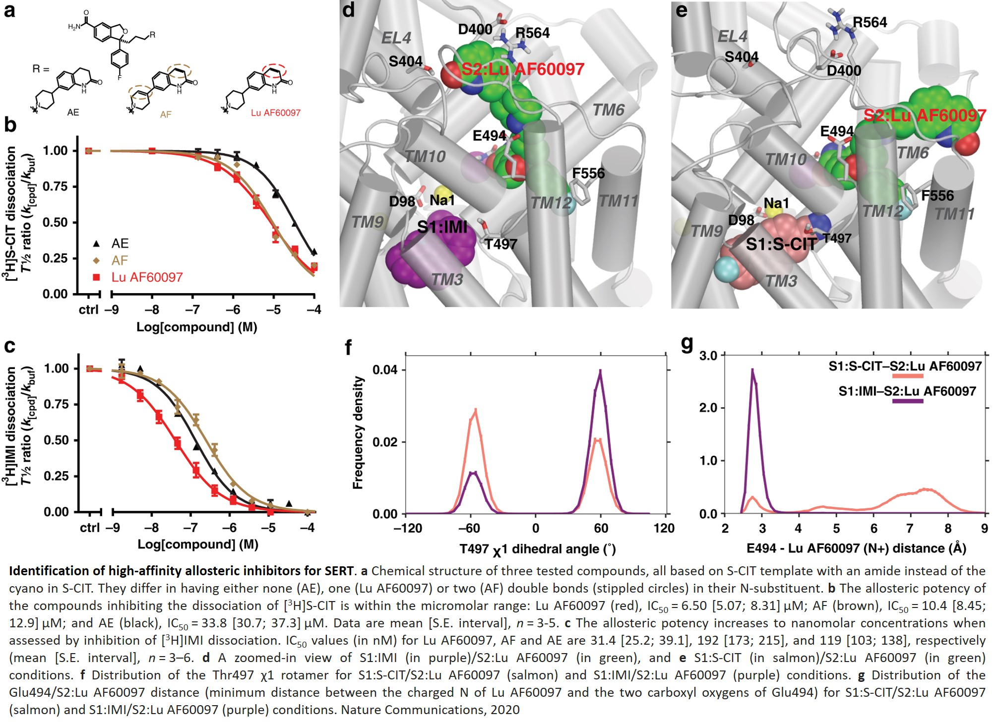 A new antidepressant binding to allosteric site of serotonin transporter identified!